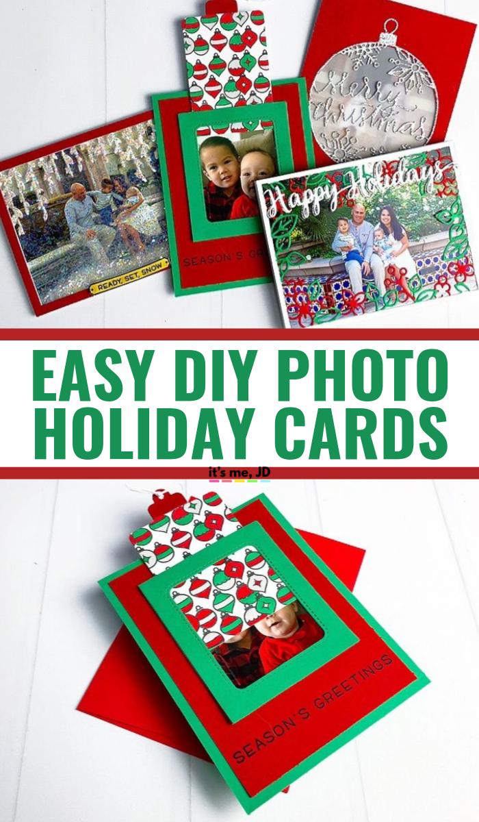 Easy DIY Photo Christmas Card Ideas For The Holiday Season #christmascard #christmascardideas #christmascards #handmadechristmascards #holidaycard #holidaycards