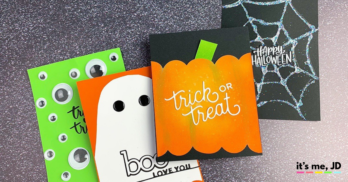 Easy DIY Halloween Cards To Make With Minimal Supplies