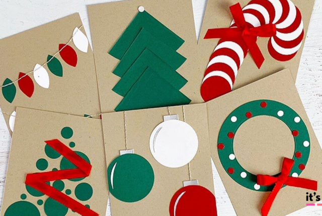 Easy Handmade Christmas Card Ideas That Anyone Can Make