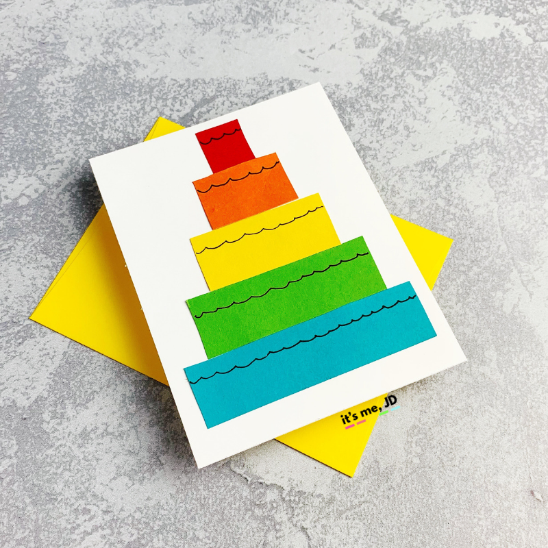 Superb 10 Easy Diy Birthday Cards Using Minimal Supplies Personalised Birthday Cards Veneteletsinfo