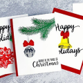 The Most Realistic Holiday Layering Stamps _ Christmas Card Making