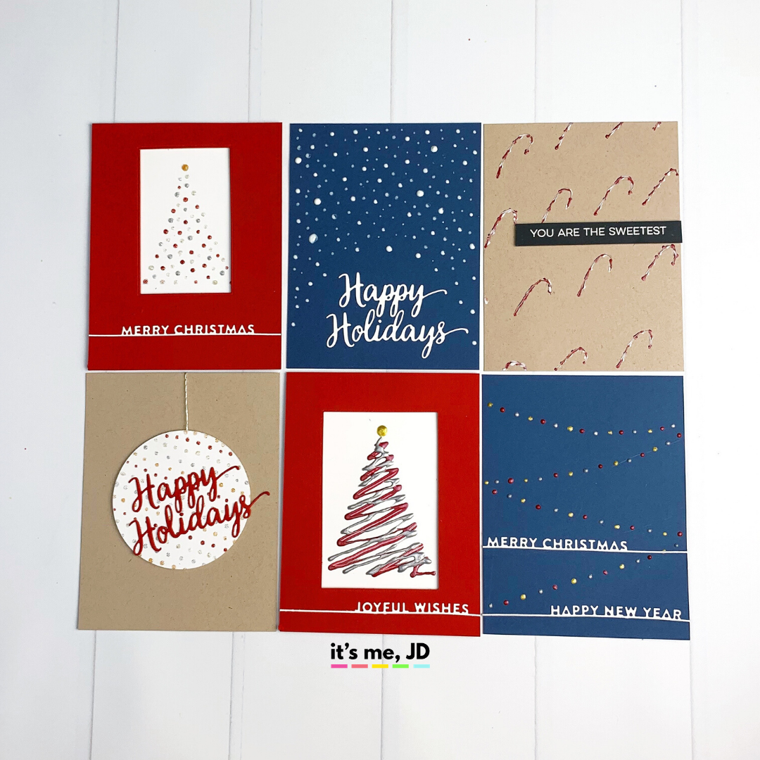 NUVO DROPS_ Tips & Techniques For Easy Christmas Card Making