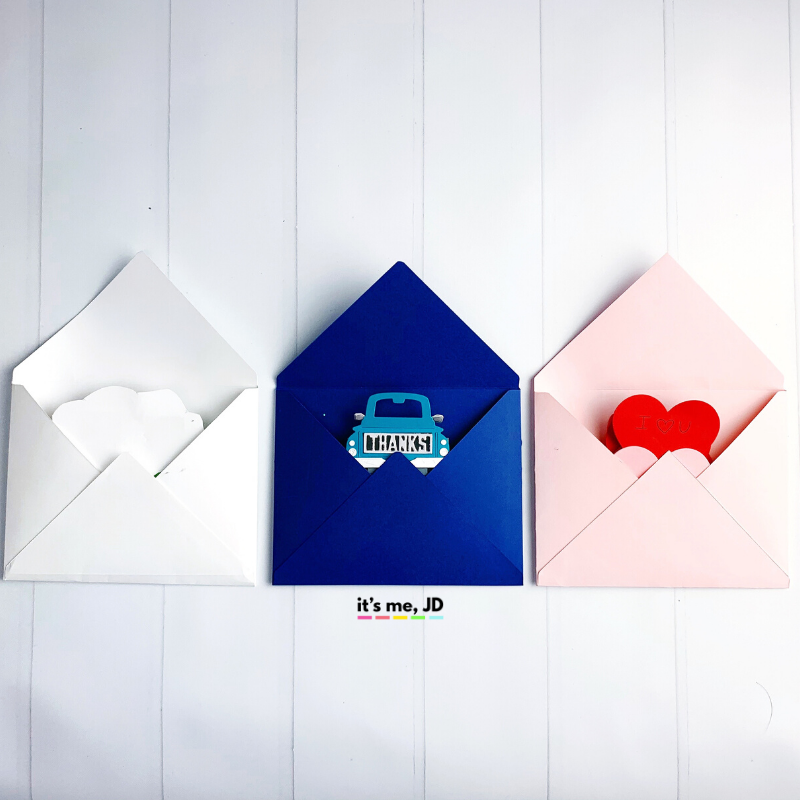 DIY Pull-out cards and envelopes 1