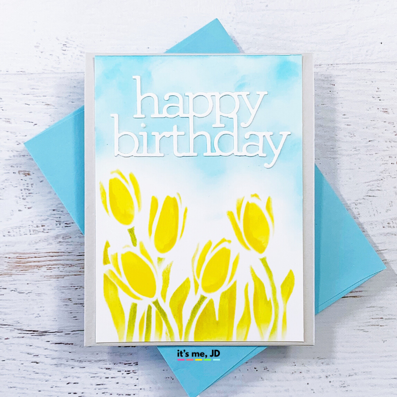 DIY Easter Cards For Spring, Happy Birthday