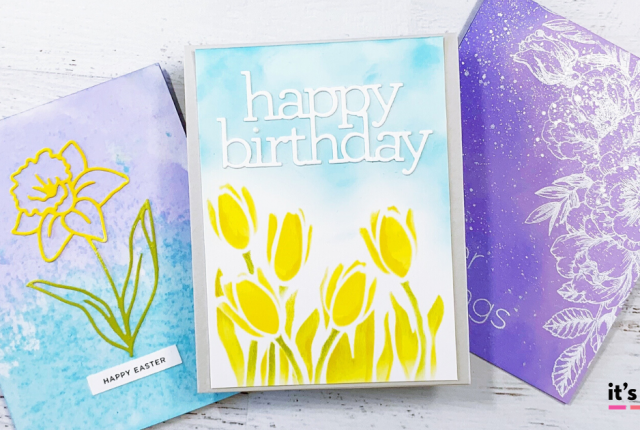 DIY Easter Cards For Spring