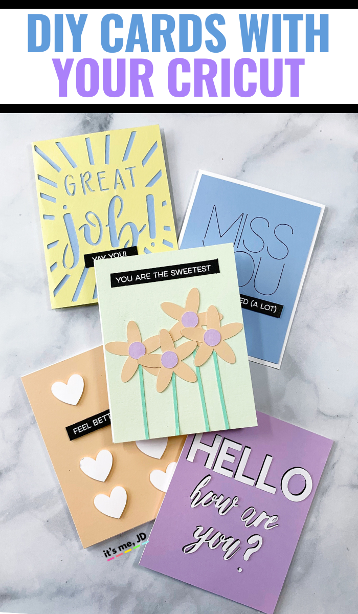 Cricut For Cardmaking_ 5 Easy Tutorials For Beginners, #cricut #cricutprojects #cricutcards #cricutforbeginners #papercrafts