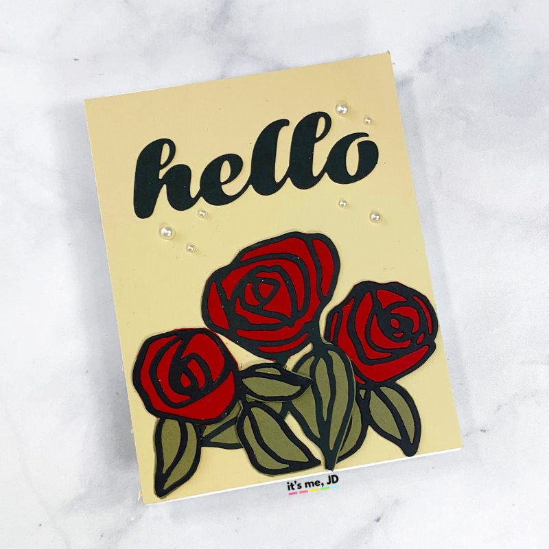 Easy Cardmaking Techniques That Bring A WOW FACTOR To Any Paper Craft, backing cardstock