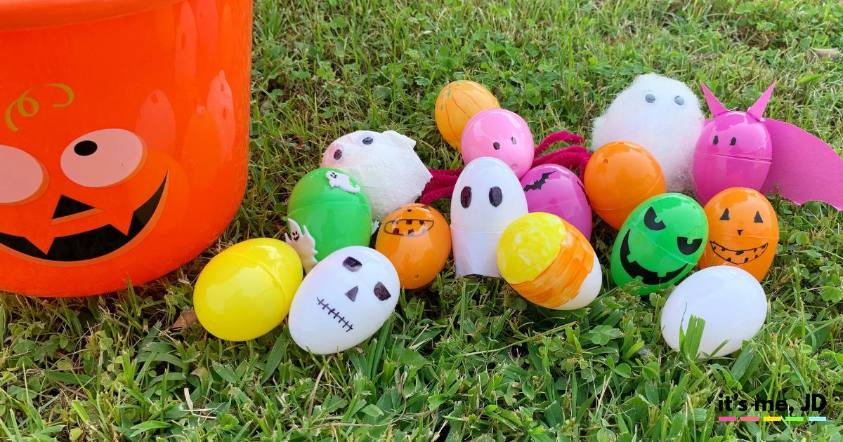 alternative to halloween egg hunt